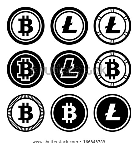 Lite Coin - Vector Icon of Virtual Currency. Stock photo © tashatuvango