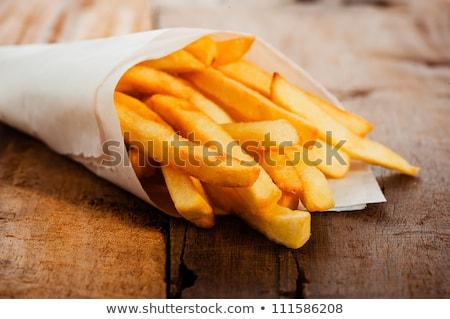 french fries colour icon Stock photo © glorcza