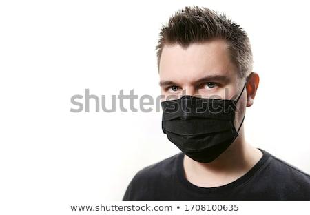 черным человеком равномерный иллюстрация человека работу Сток-фото © bluering