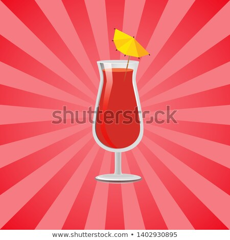 Have Fun Summer Drink Grapefruit Juice and Vodka Stock photo © robuart