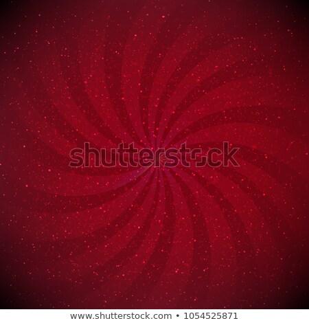 Red Sunburst Black Vignette Border Stock photo © adamson