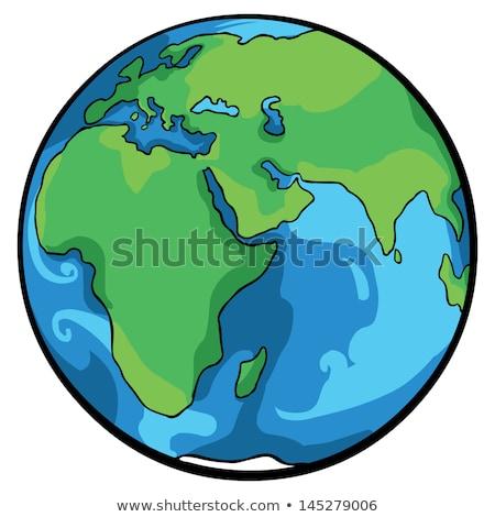 Cartoon Earth Idea Stock photo © cthoman
