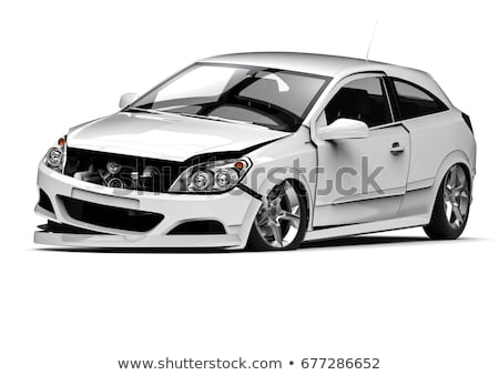 Incidente auto rotta meccanica illustrazione strada sfondo Foto d'archivio © colematt
