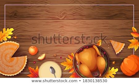 vacanze · Turchia · illustrazione · alimentare · piatto - foto d'archivio © robuart