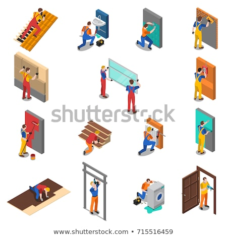 Different types of construction tools Stock photo © colematt