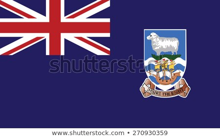 Falkland Islands flag  Stockfoto © grafvision