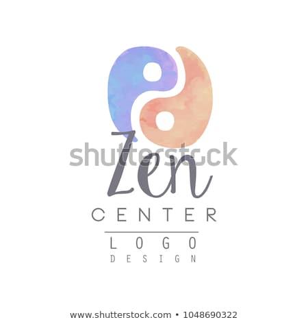 Alternatieve geneeskunde wellness yoga zen meditatie vector Stockfoto © marish