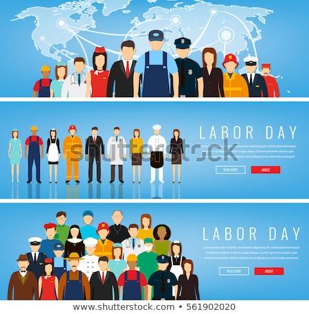 Différent personnes professions vecteur bannière modèles Photo stock © Decorwithme
