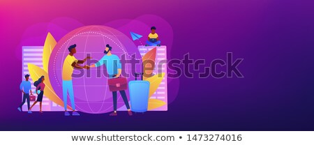 emberi · erőforrások · szalag · fejléc · menedzserek · profi - stock fotó © rastudio