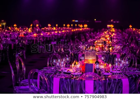Gala dinner table stock photo © simply