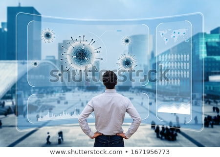 Disease Population Spread Stock photo © Lightsource