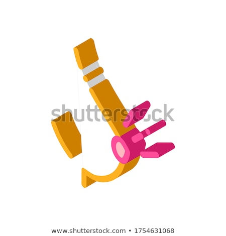 Ağırlık gebelik izometrik ikon vektör imzalamak Stok fotoğraf © pikepicture