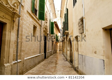 casa · costruzione · città · muro · strada - foto d'archivio © lunamarina