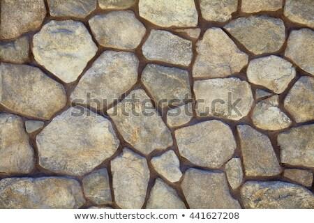 River stone paver Stock photo © bobkeenan