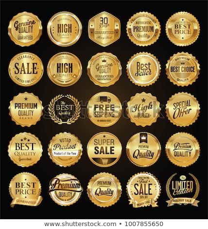 golden medallions Stock photo © milmirko