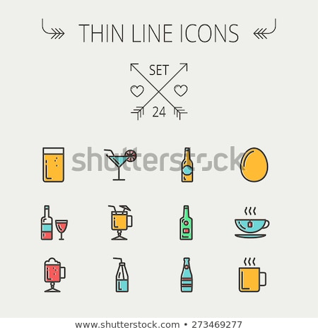 Drink icons | JUICY series Stock photo © sahua