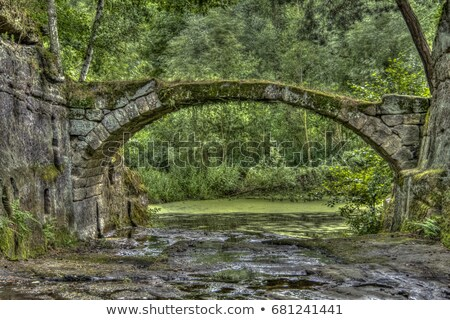 Ancient stone bridge Stock photo © aladin66
