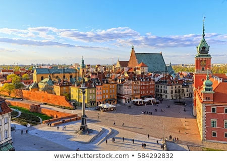 Варшава · Польша · город · район · дворец - Сток-фото © rognar