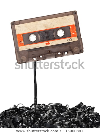 Audio tape cassettes with subtracted out tape.  Stock photo © deyangeorgiev