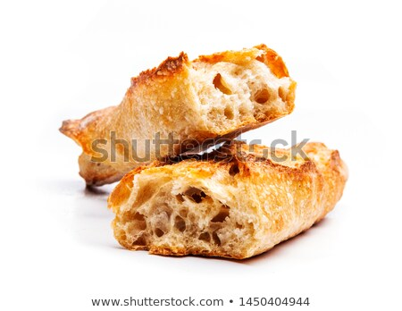 Stock photo: Fresh French baguette