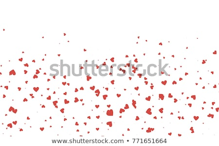 Abstract  background with heart and wave stock photo © Elmiko
