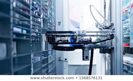 ストレージ ロボット 技術 マシン パッケージ 黄色 ストックフォト © pixpack