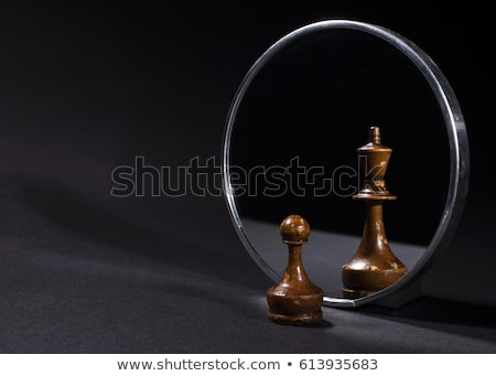 King with pawns Stock photo © gyongy