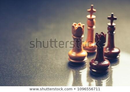 Roi deux reine guerre groupe succès Photo stock © gyongy