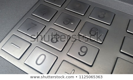 key pad detail Stock photo © prill