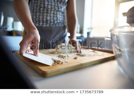 Man using electric whisk Stock photo © photography33
