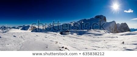 бледный плато небе горные путешествия Сток-фото © Antonio-S