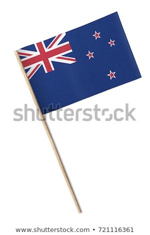 миниатюрный флаг Новая Зеландия Сток-фото © bosphorus