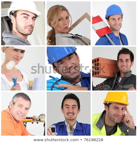 Montage of various professions stock photo © photography33