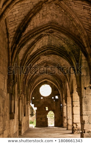 Ancient castle in Syria Stock photo © bbbar