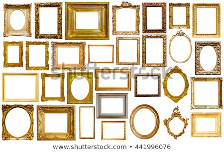 Old Antique Frame on Wall Stock photo © HaywireMedia