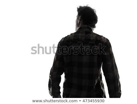 Dramatic Man's Portrait Stock photo © Belyaevskiy