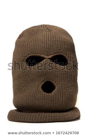 Kötü ceza bıçak adam siyah Stok fotoğraf © ctacik