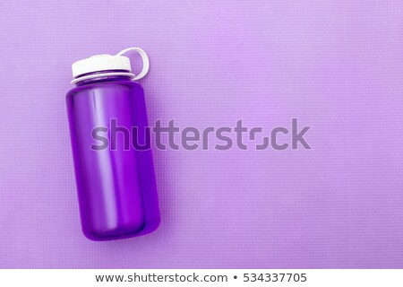 Butelek wody odizolowany biały skopiować wiosną Zdjęcia stock © kornienko