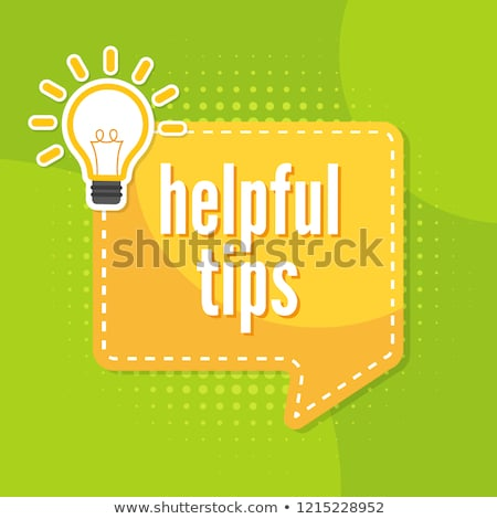 Helpful Tips Stock photo © ivelin