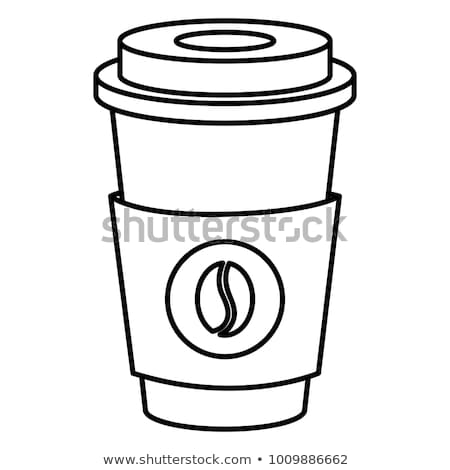 hot plastic coffe cup isolated stock photo © shutswis