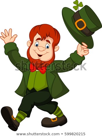 Leprechaun About to Tip His Hat Stock photo © AlienCat