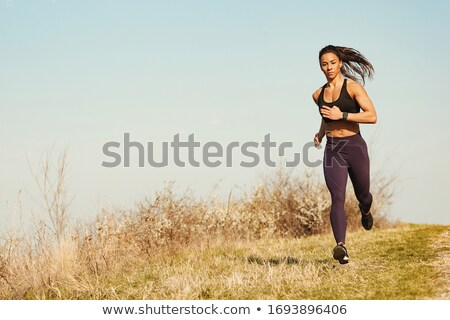 jogging through the fields Stock photo © val_th