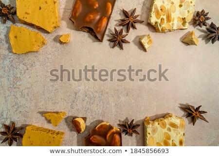 Espanhol cristalizado ovo doces ouro Foto stock © raptorcaptor