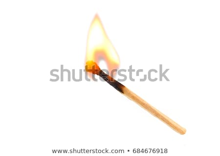 Match on white background Stock photo © Bunwit