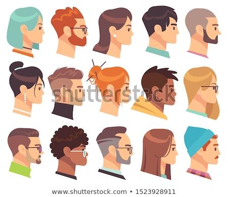 Ethniques femmes profile avatar neuf Photo stock © Jesussanz