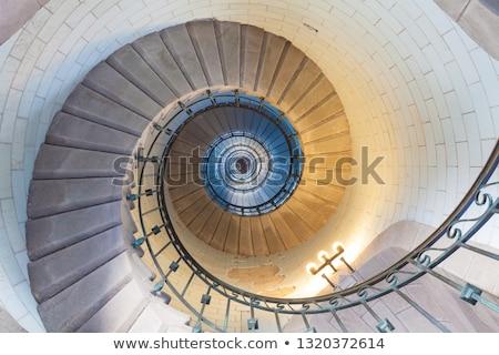 yüksek · deniz · feneri · merdiven · lüks · merdiven · Metal - stok fotoğraf © smithore