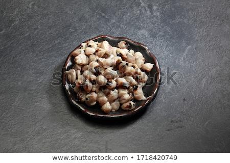 száraz · tintahal · étel · egészség · hús · piac - stock fotó © stoonn