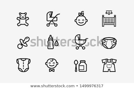 Icono muneca decoración ornamento ilustración Foto stock © zzve