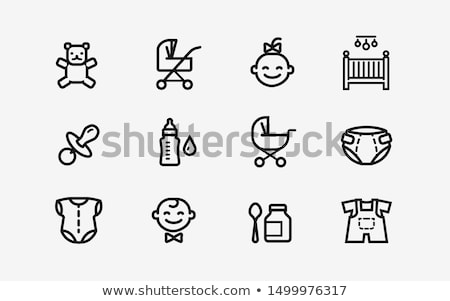Symbol Puppe Dekoration Ornament Illustration Stock foto © zzve