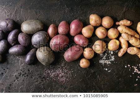 Raw potatoes, different varieties Stock photo © stockyimages